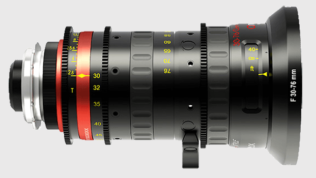 Angineux 30-76 Lightweight Cine Zoom