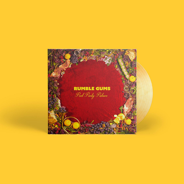 Rumble Gums Album Artwork by Chase Cee
